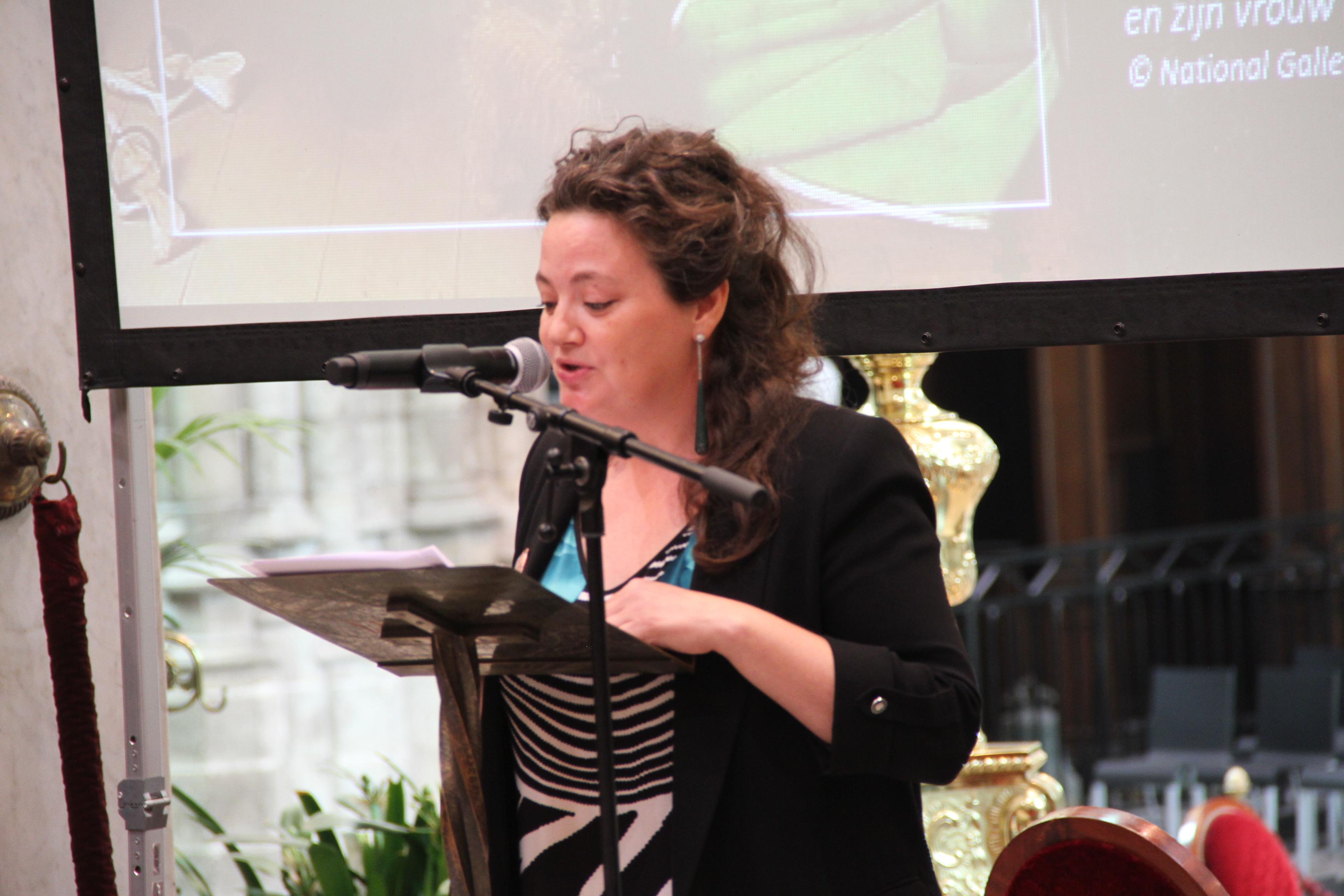 Projectcoördinator Astrid Van Ingelgom © Bisdom Gent, foto: Ellen Eeckhout