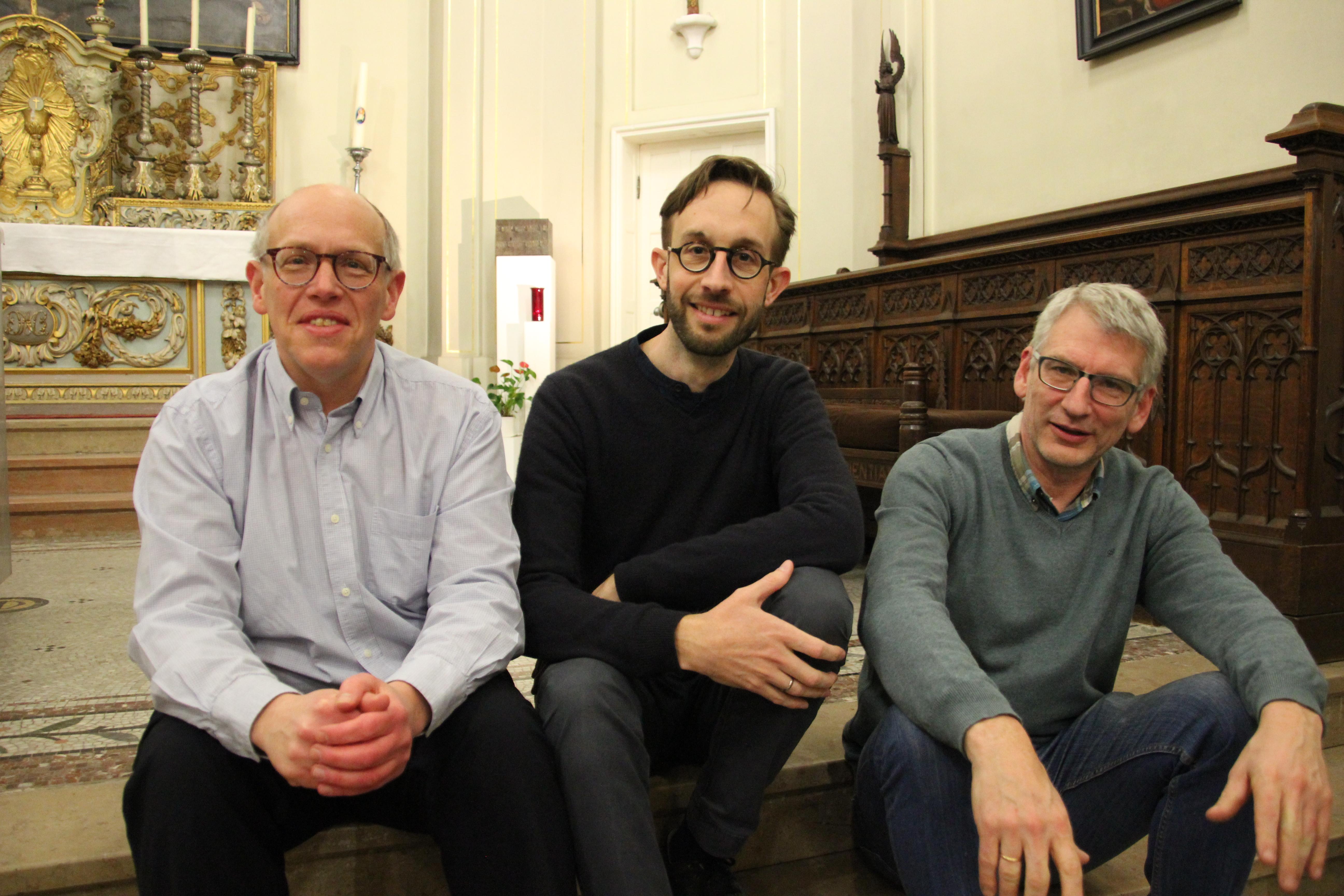 Drie nieuwe permanente diakens voor het aartsbisdom © Tim Peeters