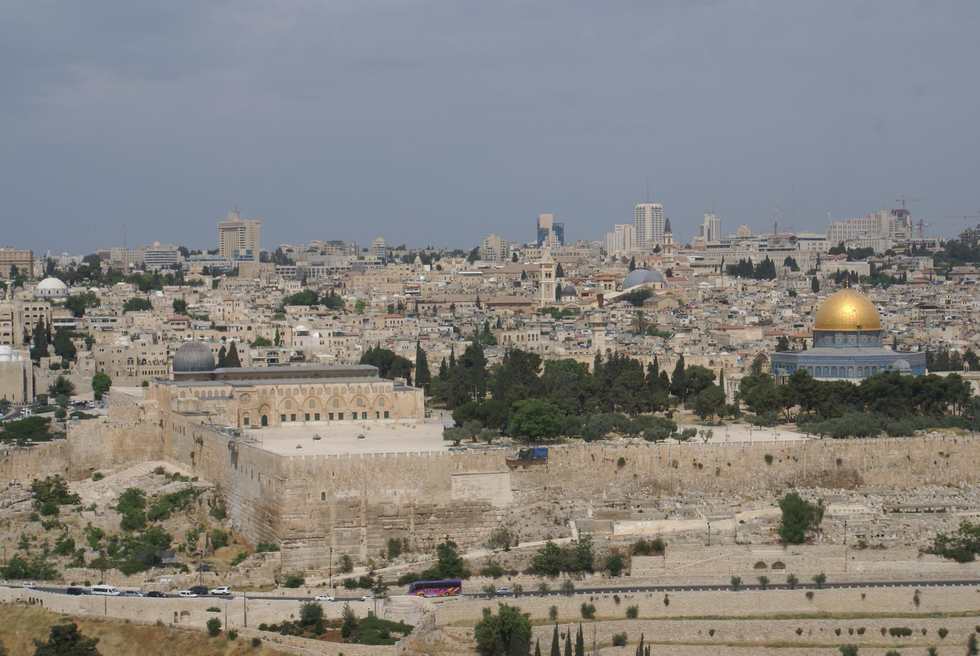 Zicht op Jeruzalem. © Chantal Leterme