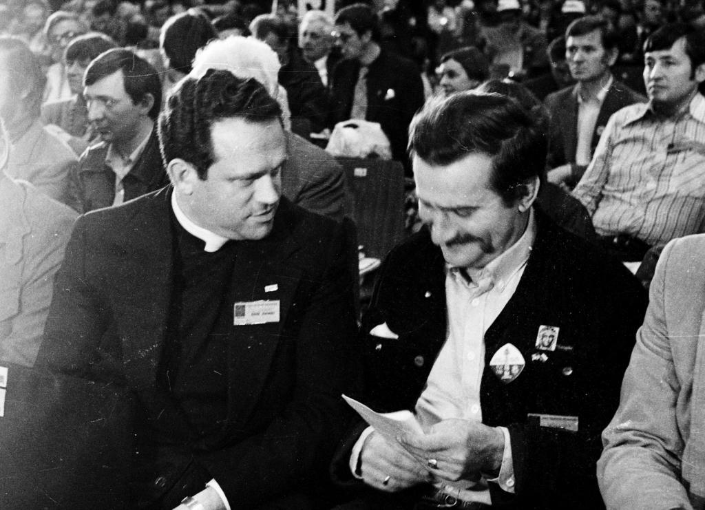 Henryk Jankowski en Lech Walesa © Solidarnosc