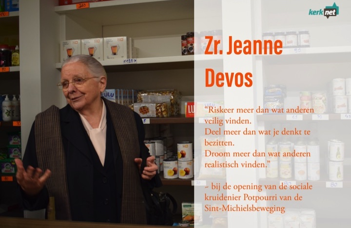 Jeanne Devos, quote. © Inge Cordemans / Lieve Wouters