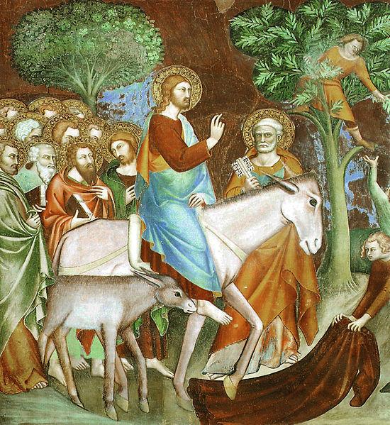 Lippo Memmi: Jezus' intrede in Jeruzalem