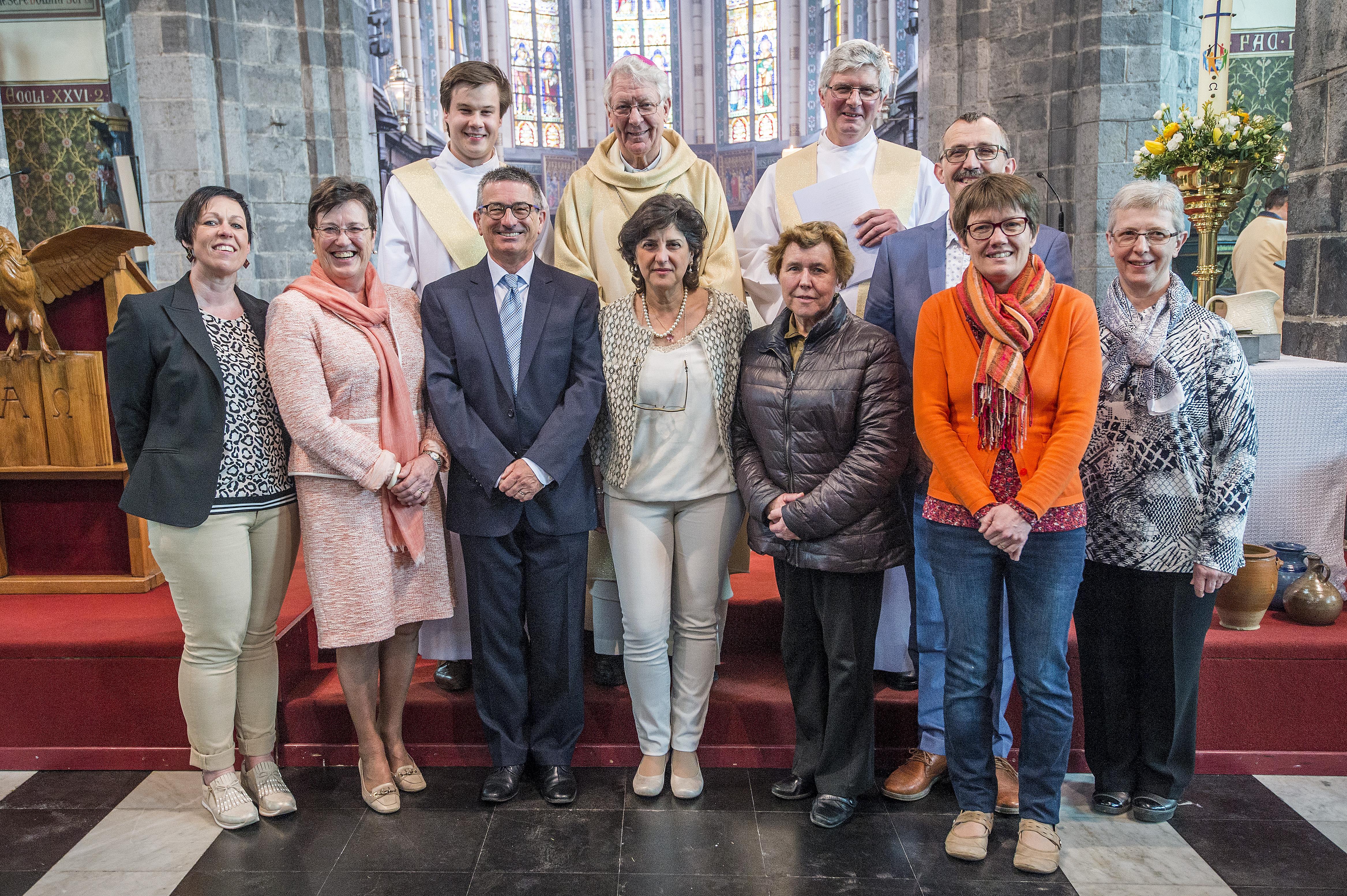 Voorstelling parochieploeg parochie in Deinze -  8 april 2018 © Bisdom Gent, foto: Frank Bahnmüller