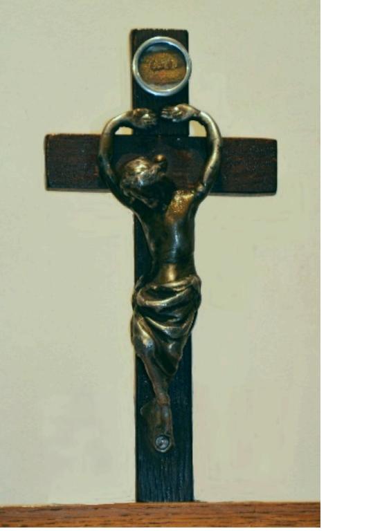 Kruiskapel te Eksaarde - Kruis