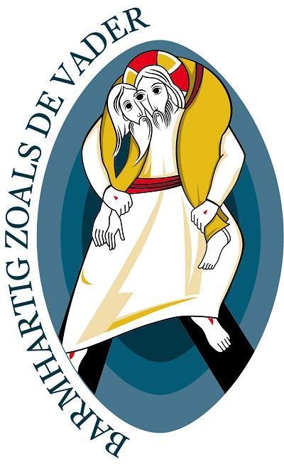 Logo van het Jaar van Barmhartigheid