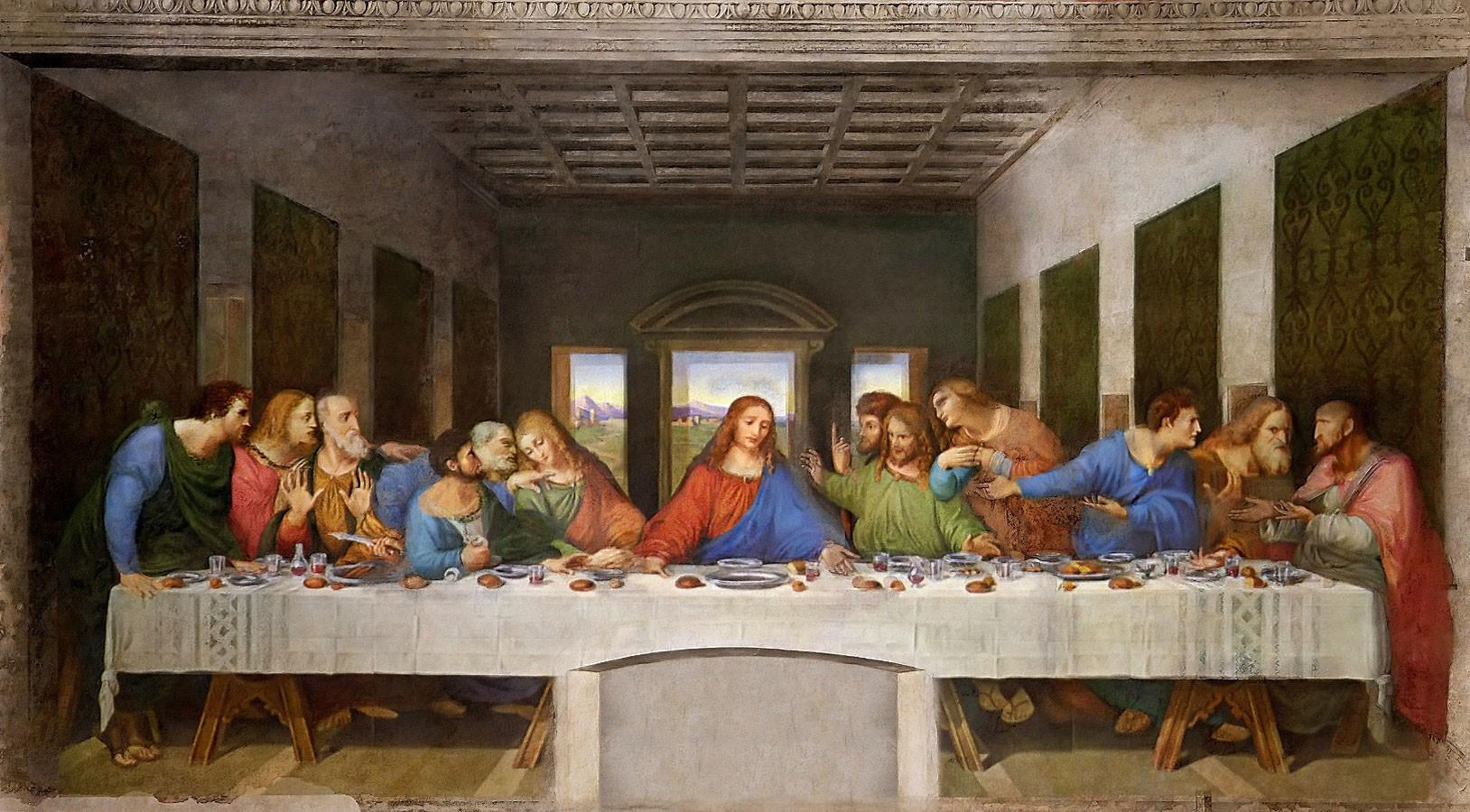 Het Laatste Avondmaal van Leonardo Da Vinci © milanostyle com