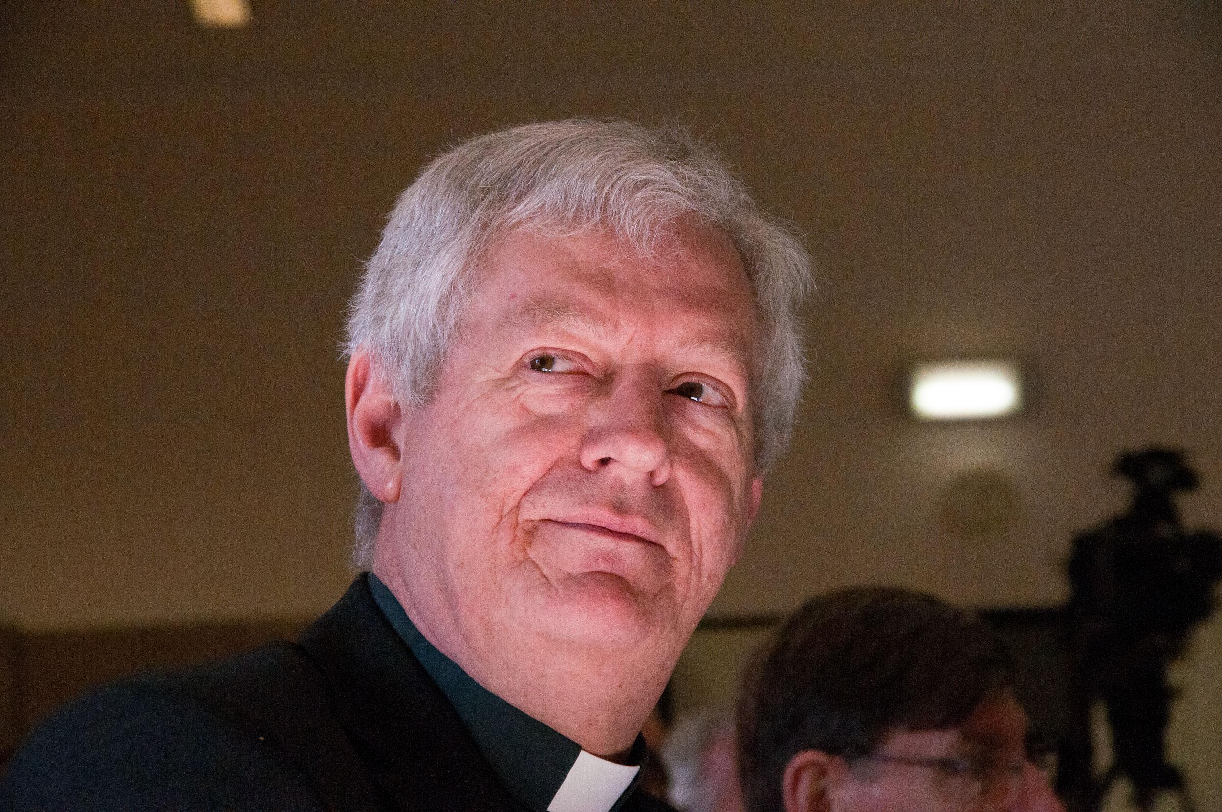 Monseigneur Leon Lemmens, hulpbisschop voor het vicariaat Vlaams-Brabant en Mechelen © Philippe Keulemans