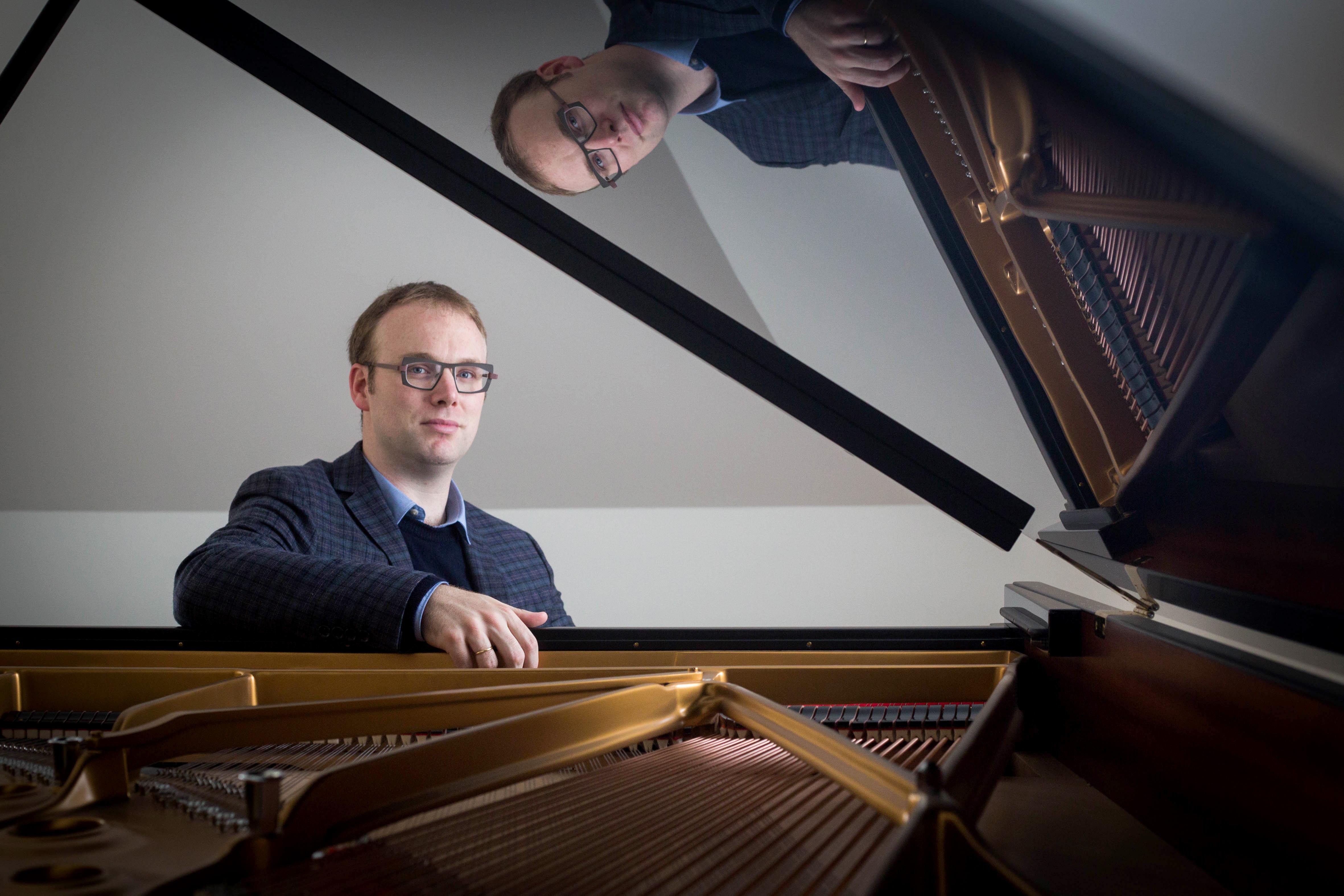 'Ik droomde ervan Rachmaninov te spelen' zegt Liebrecht Vanbeckevoort © Mine Dalemans