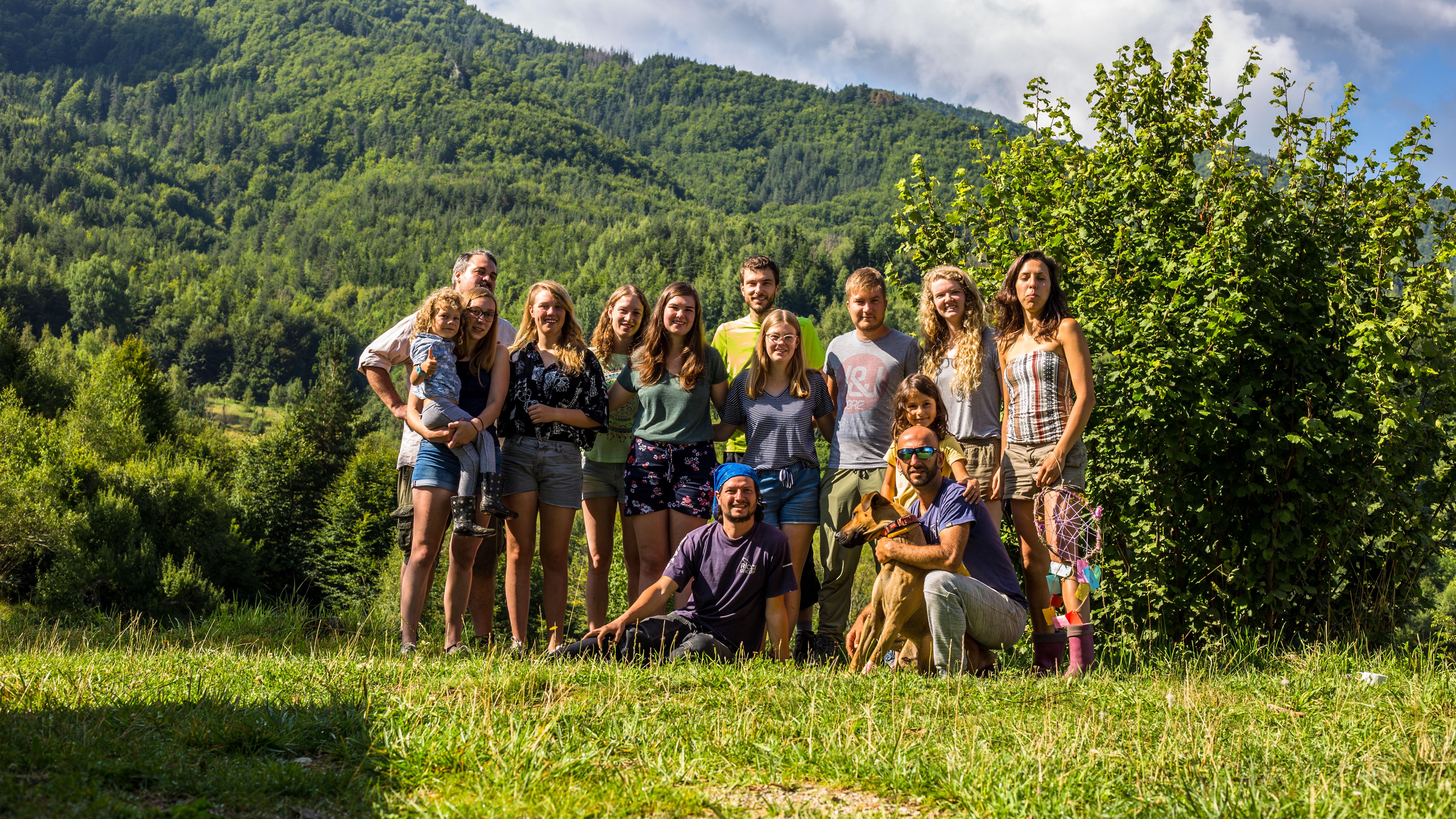 Lieselot trok met een enthousiaste groep vrijwilligers naar Bulgarije.