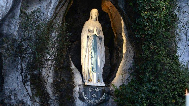 Onze-Lieve-Vrouw van Lourdes © Vatican Media