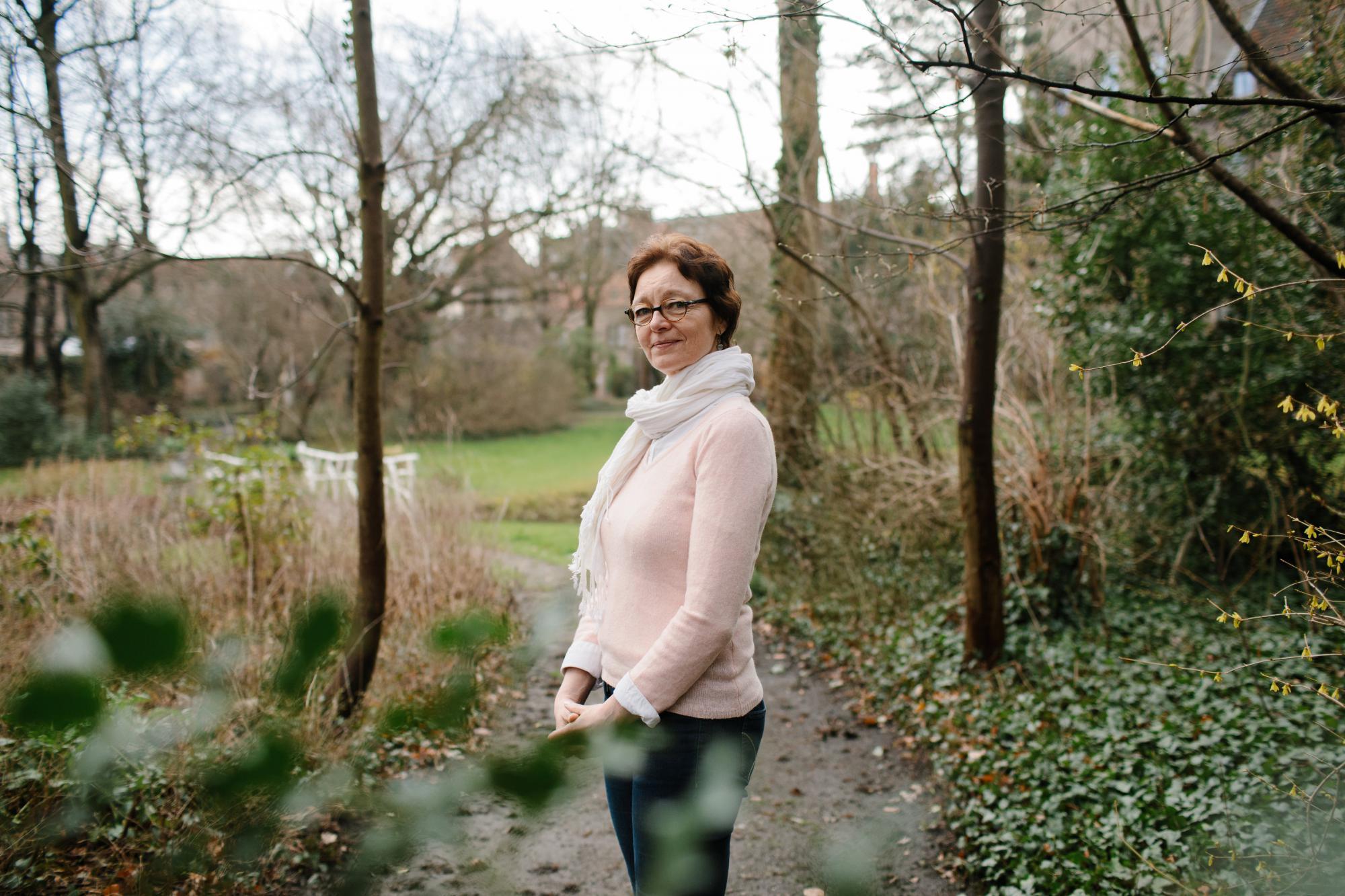 Marijke Le Roy: Het leven heeft me niet gespaard, maar op een bepaald moment moet God het in handen hebben genomen. © Mathias Hannes