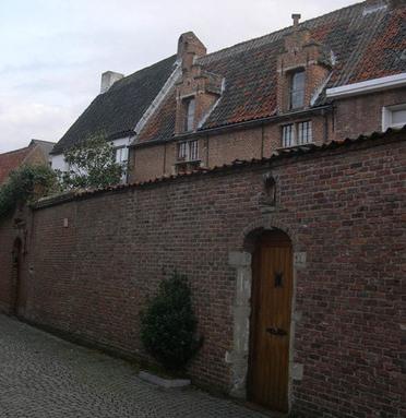 Acht zaligheden in Begijnhof van Mechelen © Ann Slaghmeulen/Onroerend Erfgoed