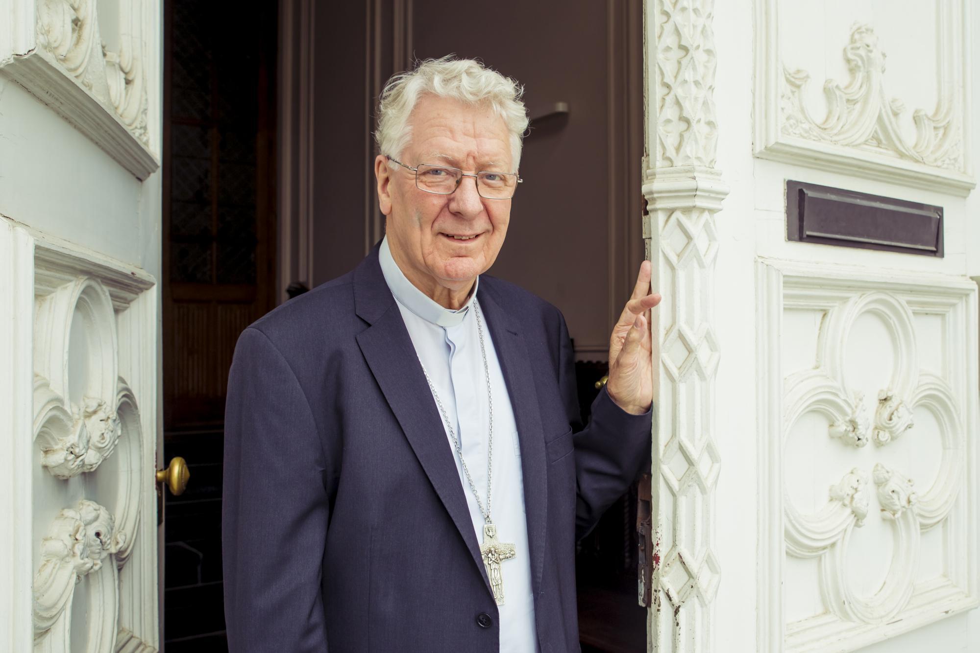 Bisschop Van Looy © Bisdom Gent, foto; Daina De Saedeleer