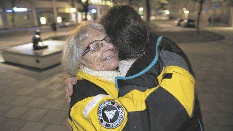 Elise Lindqvist, 'Moeder Teresa van de prostituees', komt op voor vrouwen die hetzelfde meemaakten als zij ooit. © Vatican News