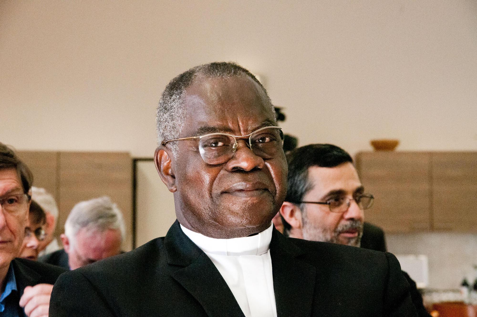 Kardinaal Laurent Monsengwo Pasinya © Philippe Keulemans