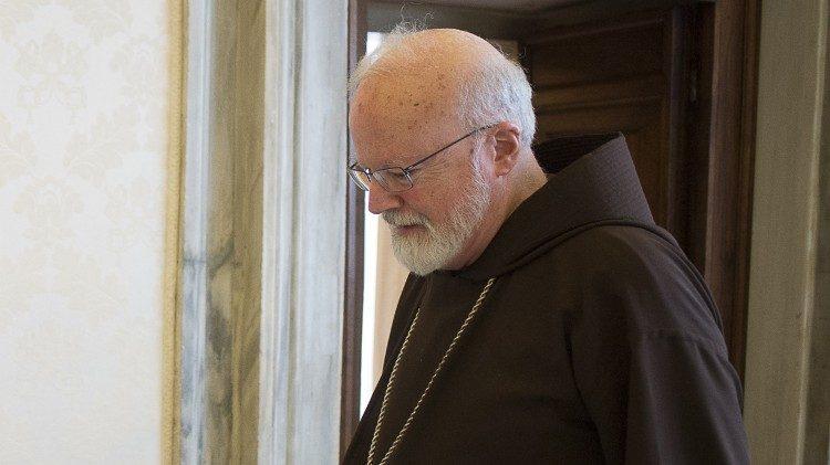 Kardinaal Sean Patrick O'Malley, de voorzitter van de commissie © Vatican Media