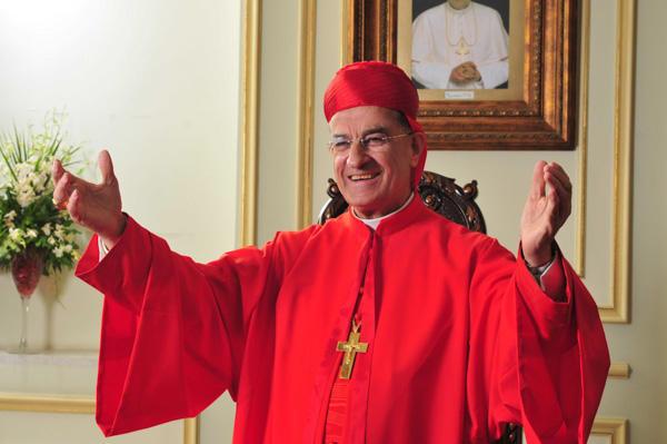 De Libanese kardinaal Béchara Boutros Raï, de maronitische patriarch van Antiochië  © Oeuvre d'Orient