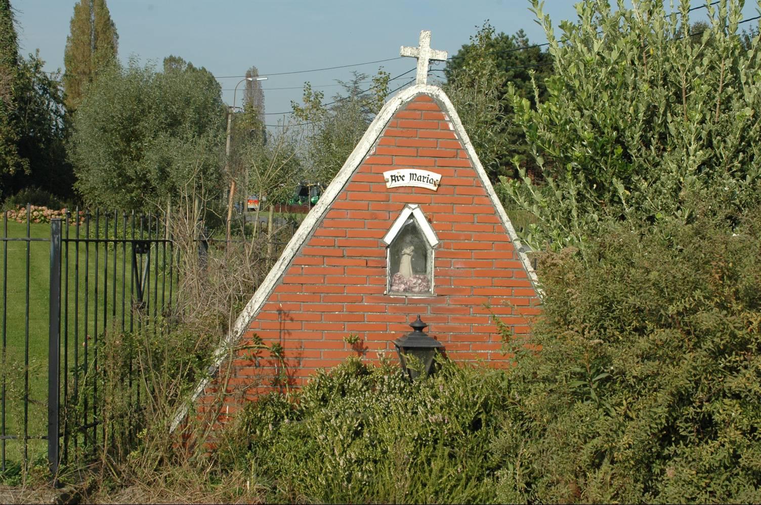 BJB-kapel Oude Veldstraat Zeveneken © PM