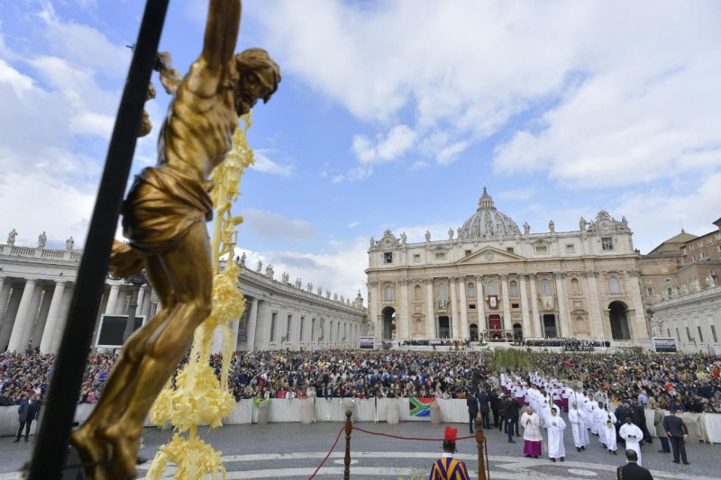 Palzmondag in Rome © Vatican Media