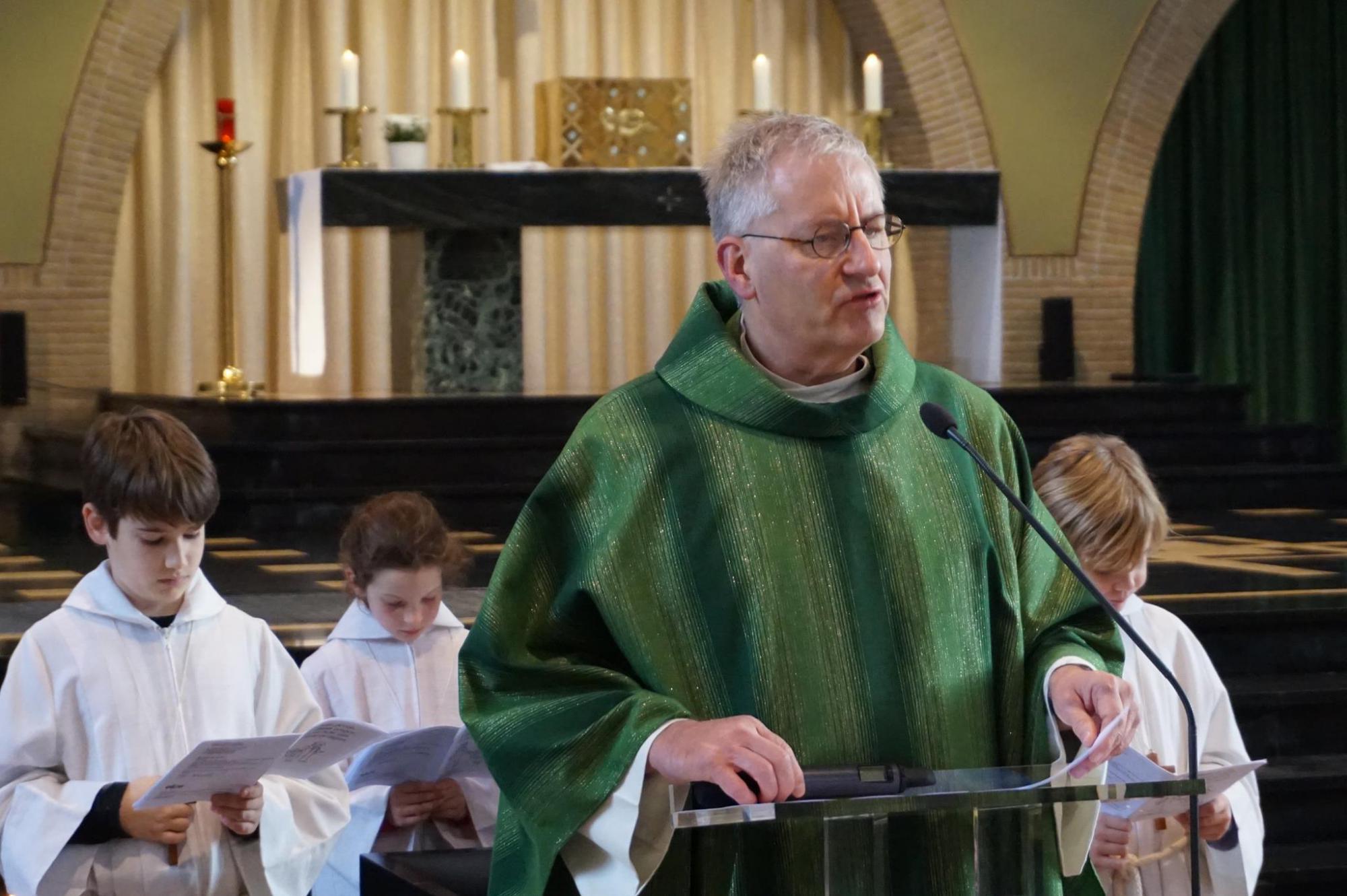 Rector Paul De Neve © Sint-Barbaracollege