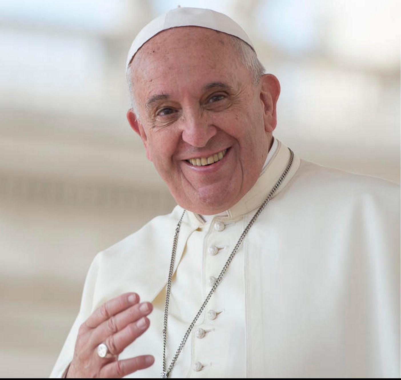 Paus Franciscus © Persdienst pausreis Mexico