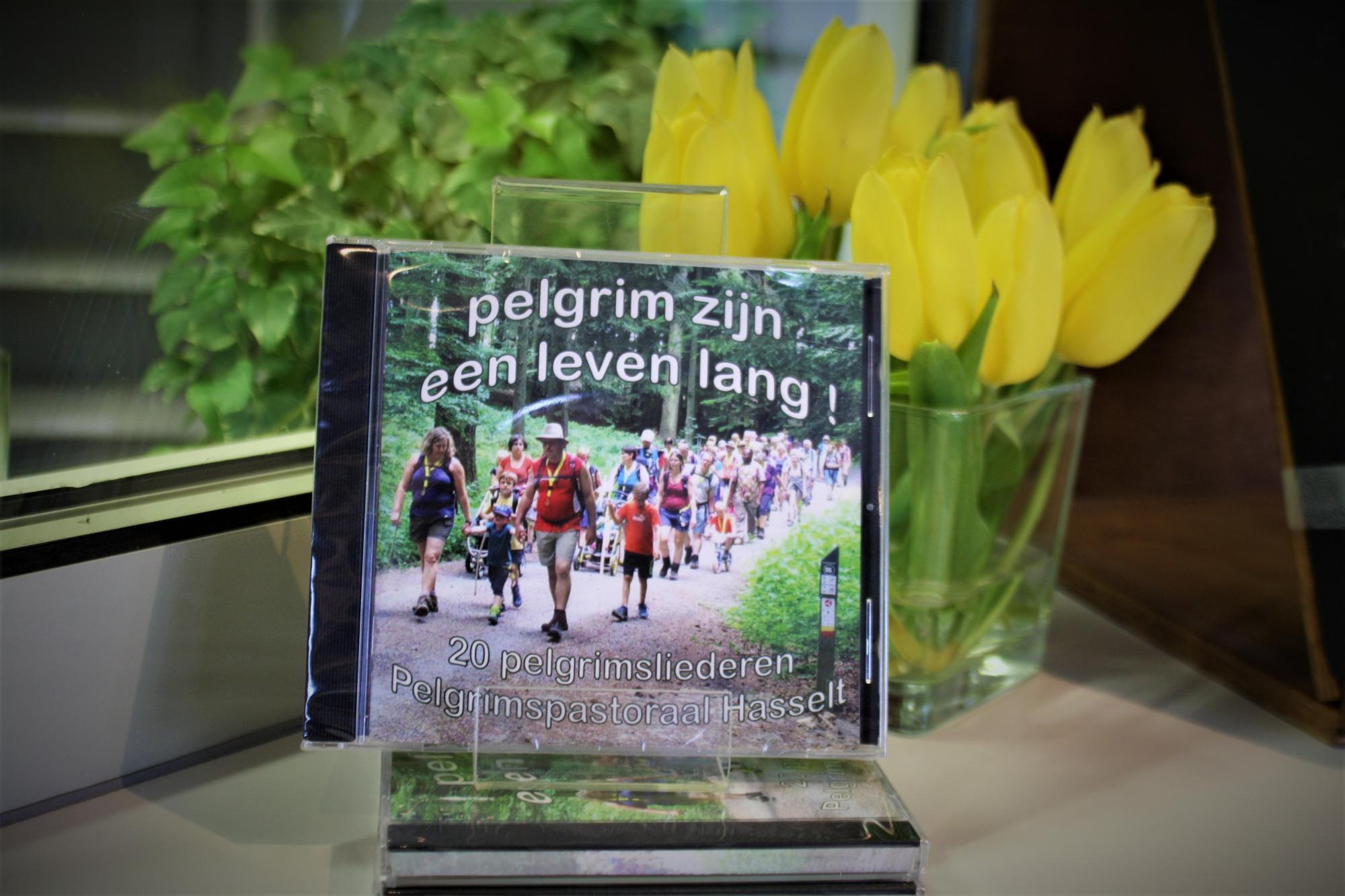 De diocesane werkgroep Pelgrimspastoraal bundelde twintig pelgrimsliederen op een cd. © Persdienst bisdom Hasselt