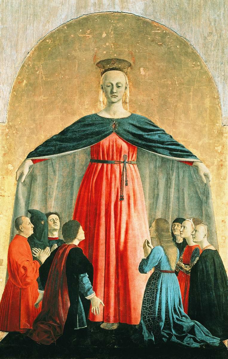 Piero della Francesca, Moeder van Barmhartigheid, 1445 © Wikimedia