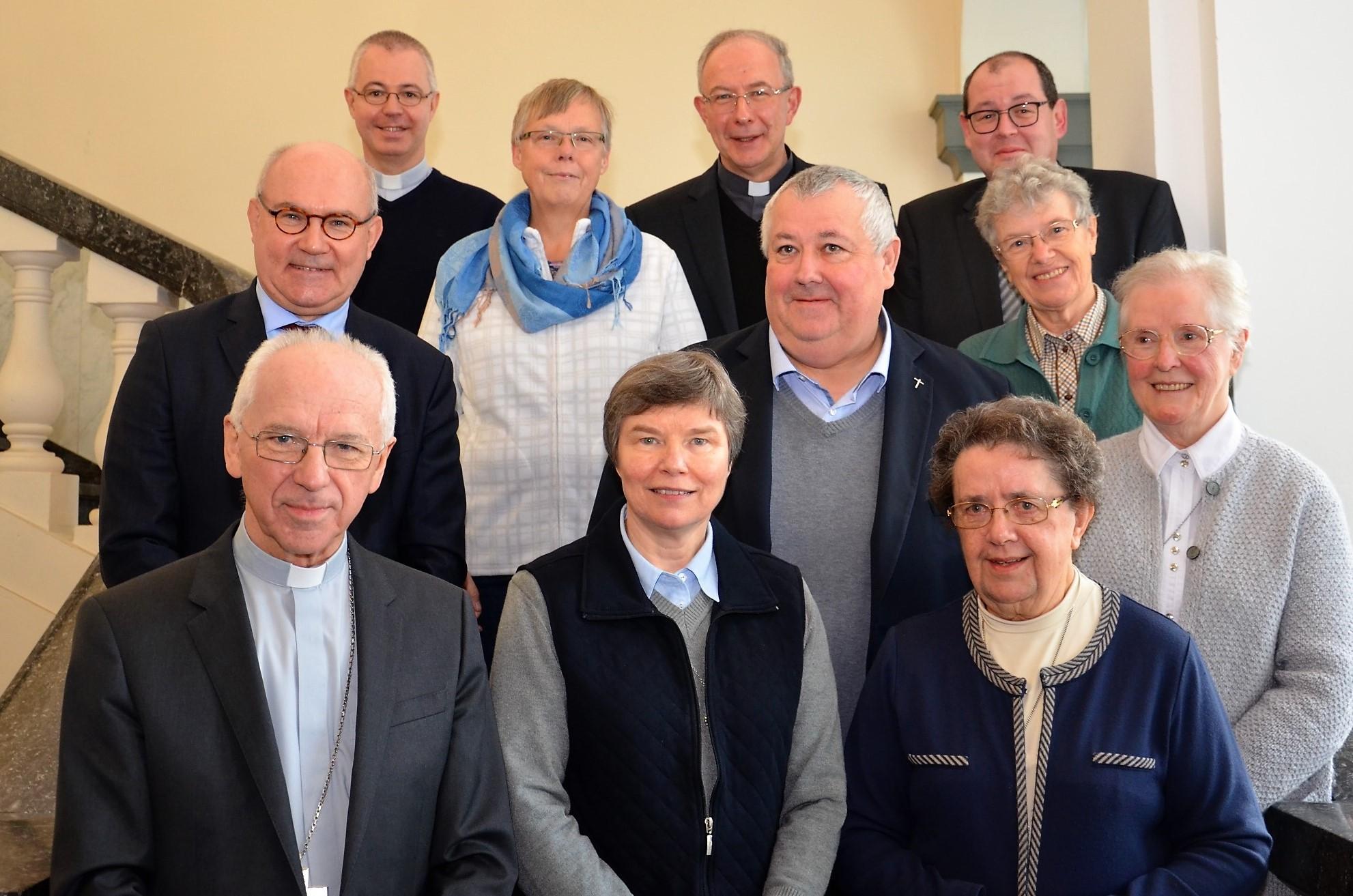De nieuwe leden van de raad  © (c) Hellen Mardaga