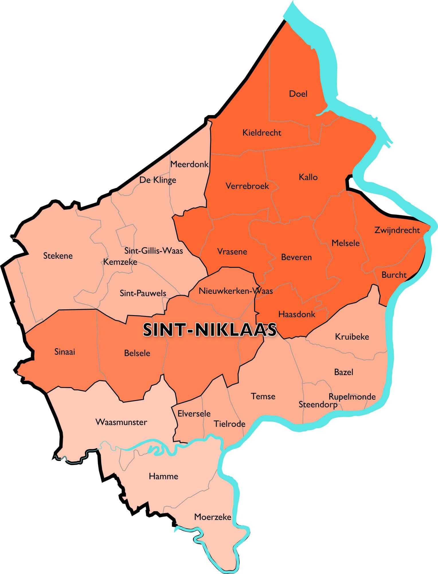 Dekenaat Sint-Niklaas © Bisdom Gent