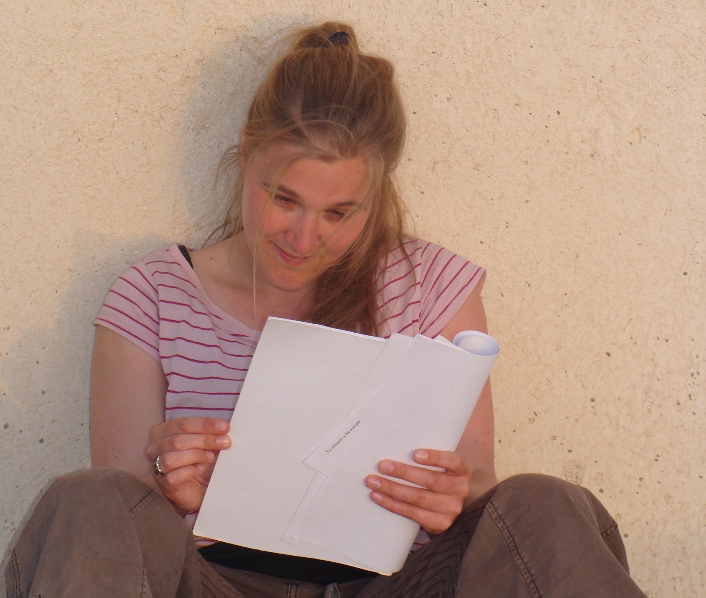 Syrië, 2009. Alle indrukken herlezen die ik onderweg heb opgedaan. © Babs Mertens