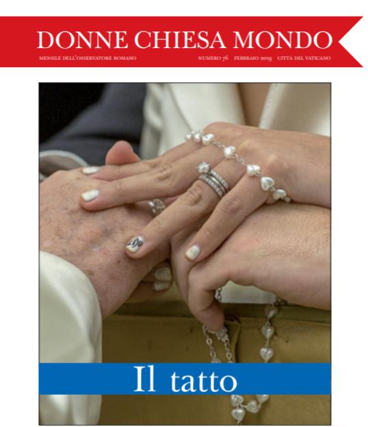 De vrouwenbijlage van L'Osservatore © Osservatore Romano/Vatican Media