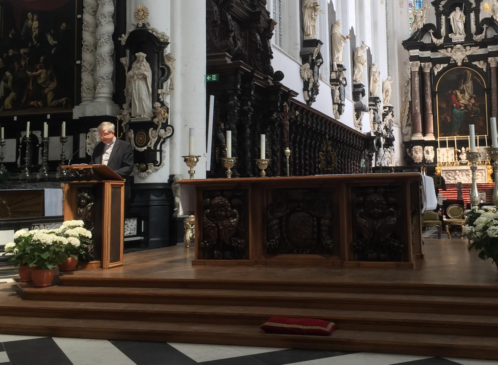 Na een afwezigheid van meer dan 170 jaar keren de dominicanen op vraag van de Antwerpse bisschop Johan Bonny terug naar de Sint-Pauluskerk © Olivier Lins
