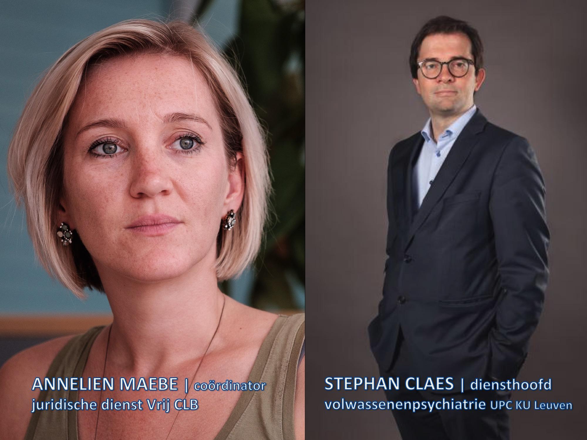 Annelien Maebe en Stephan Claes.  © RR