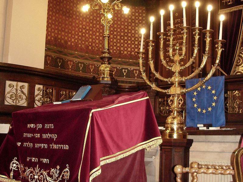 De Grote Synagoge in Brussel © Wikipedia