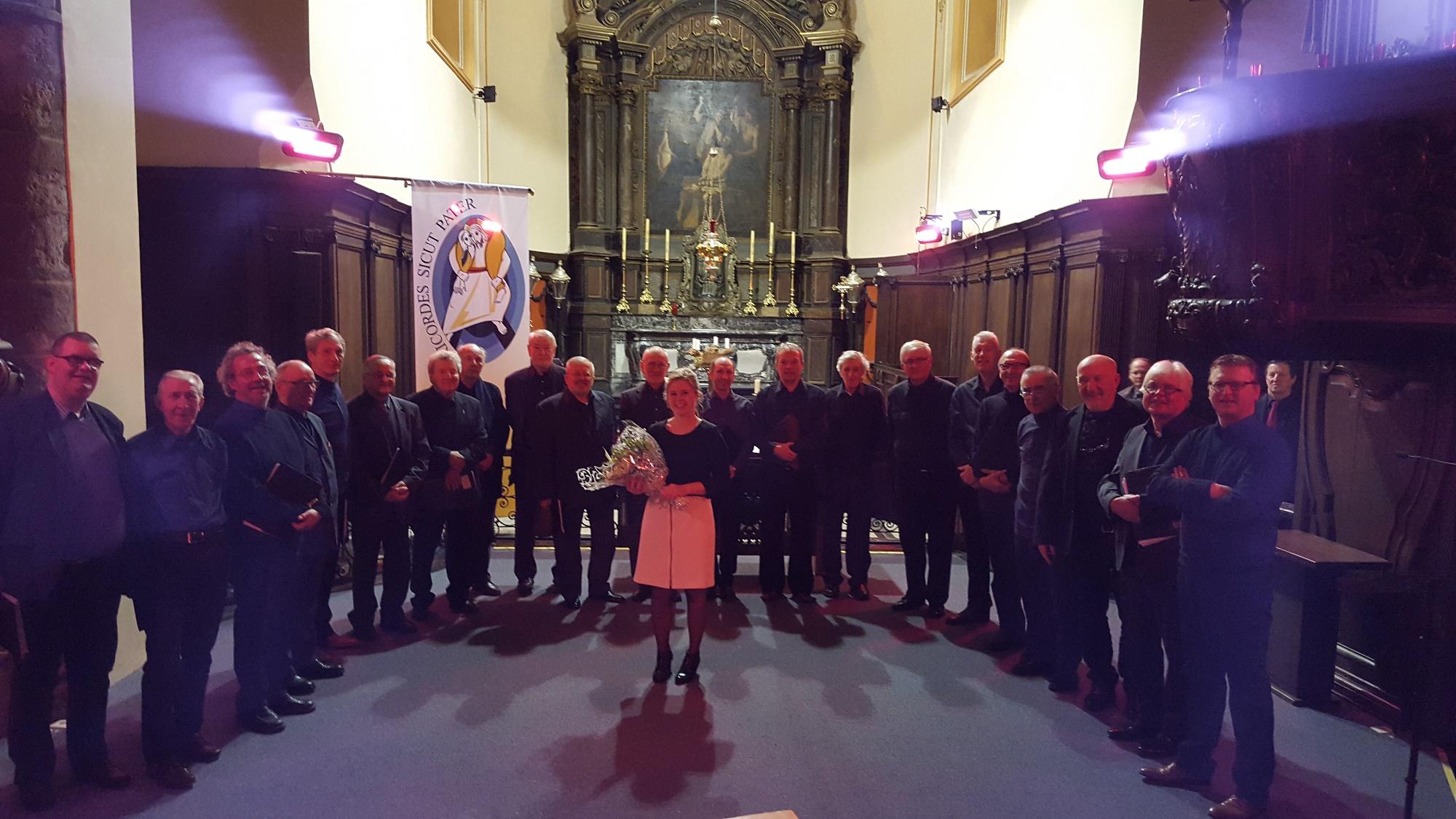 Mannenkoor The Men's Formation zoekt enthousiaste zangers!