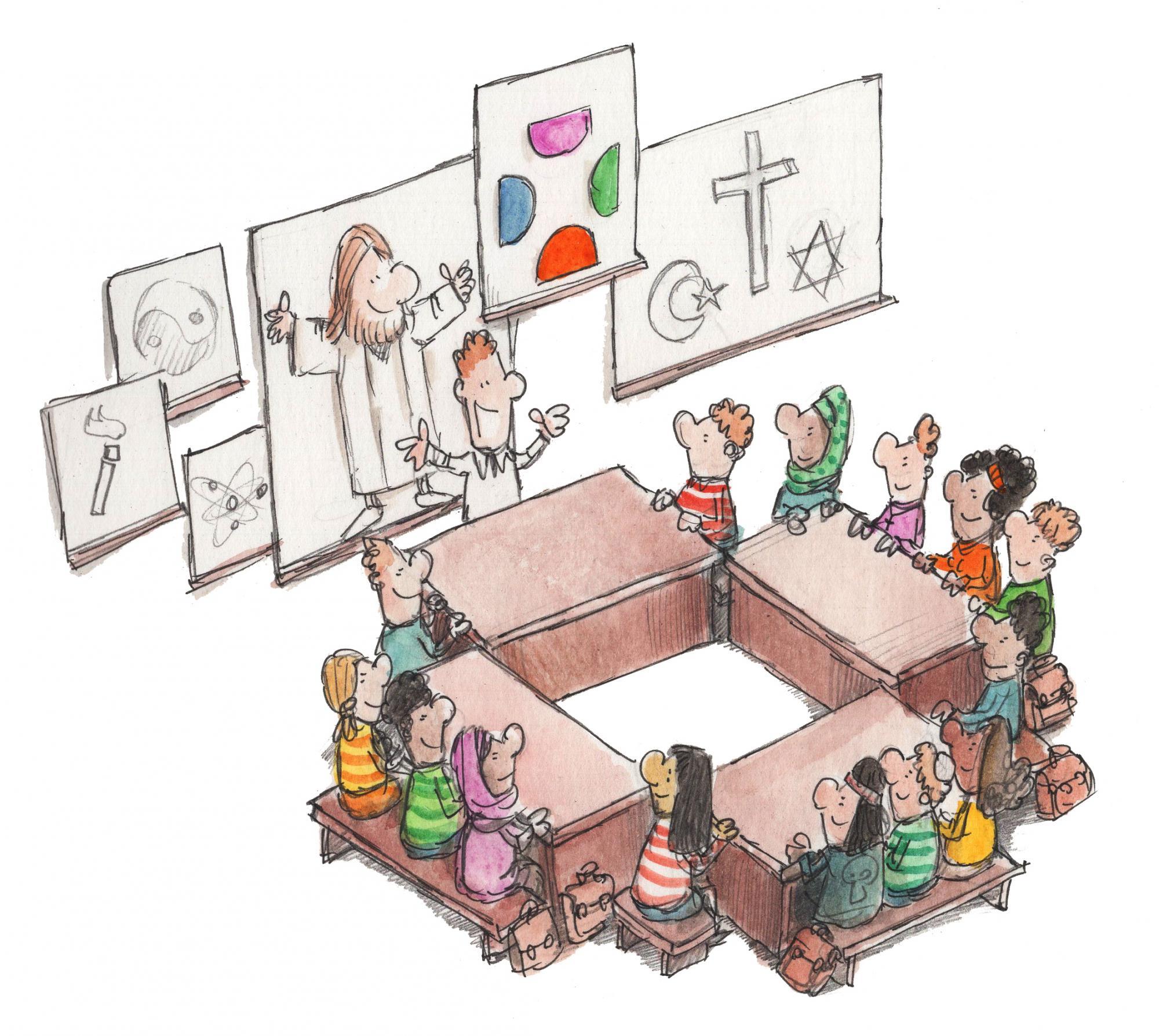 De dialoogschool © Thomas - KU Leuven