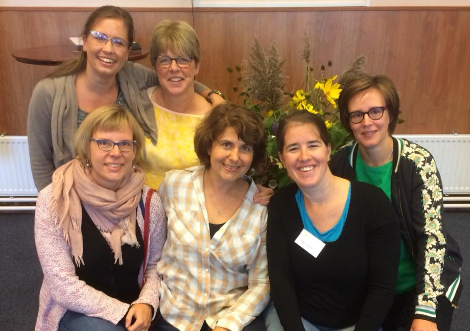 Vlaamse Godly Play trainers op de Europese Godly Play Conferentie © Joke Vermeire