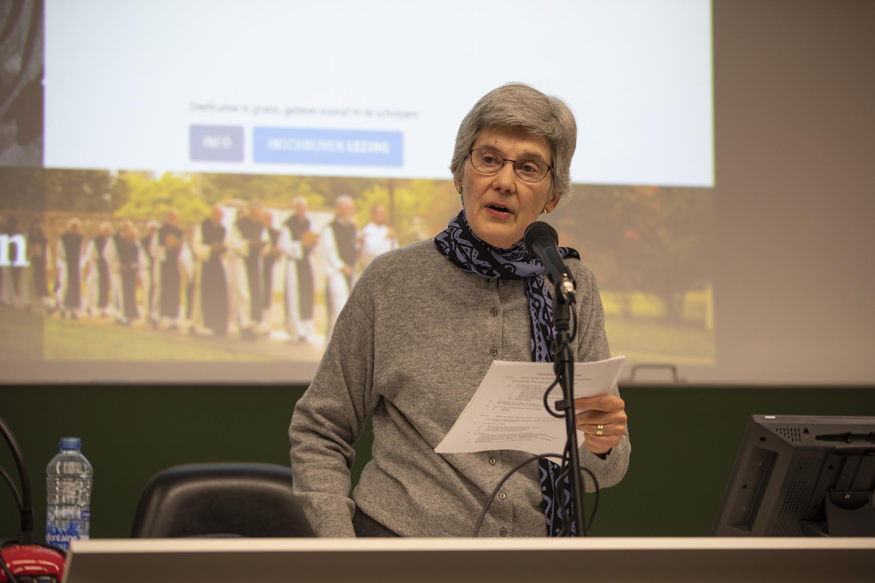 Bonnie Thurston © Frederik Hulstaert, UCSIA
