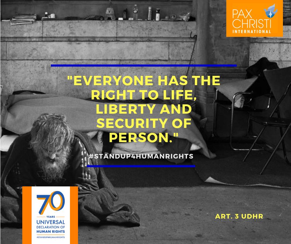 70 jaar Rechten van de Mens © Pax Christi