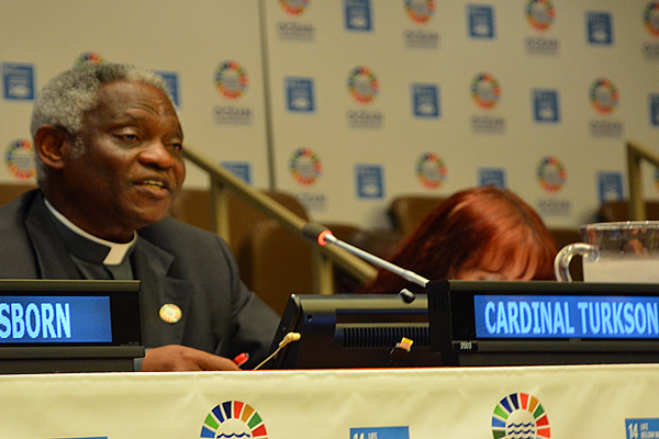 Kardinaal Peter Turkson © Holy See Mission at the United Nations