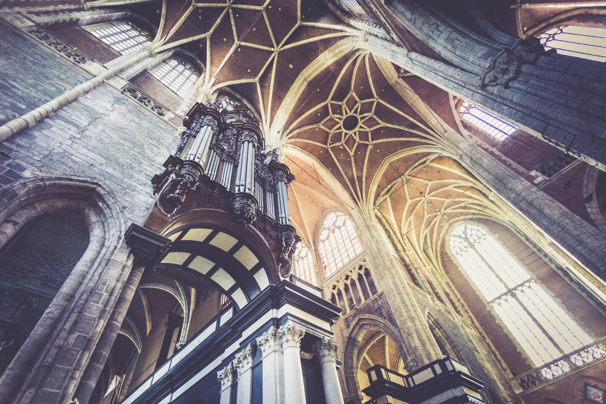 Orgel in de Sint-Baafskathedraal © www.lukasweb.be - Art in Flanders vzw, foto: Daina De Saedeleer