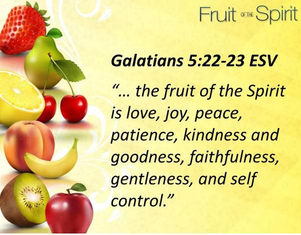 Vruchten van de Geest 2