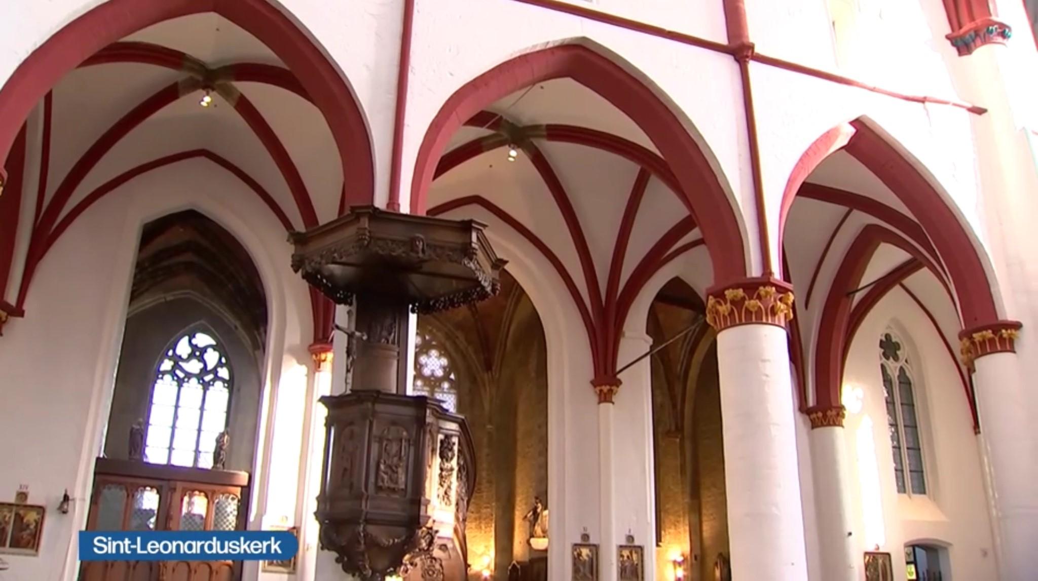 Sint-Leonarduskerk Zoutleeuw plechtig heropend © VRT