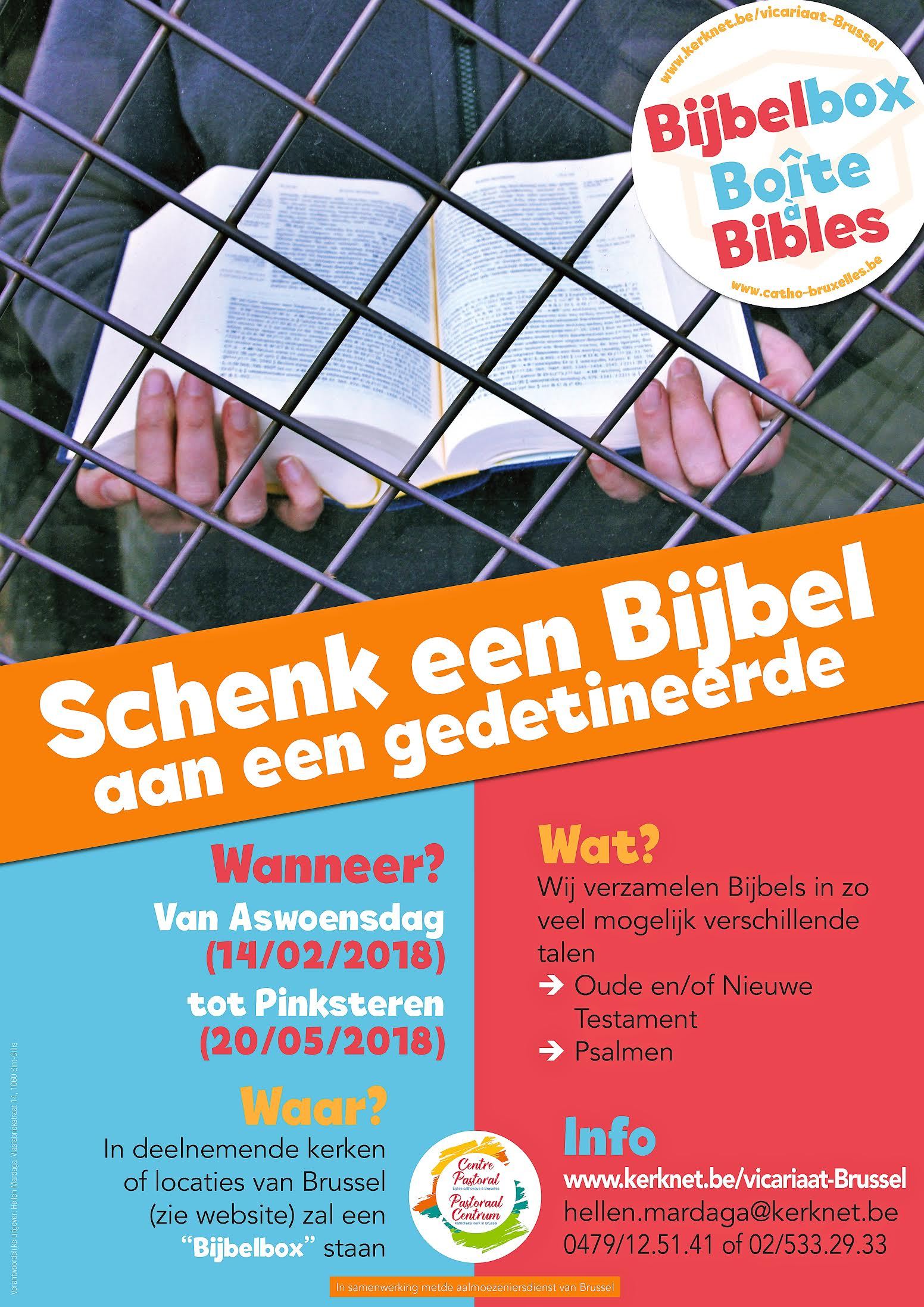 Doe mee! Schenk een bijbel