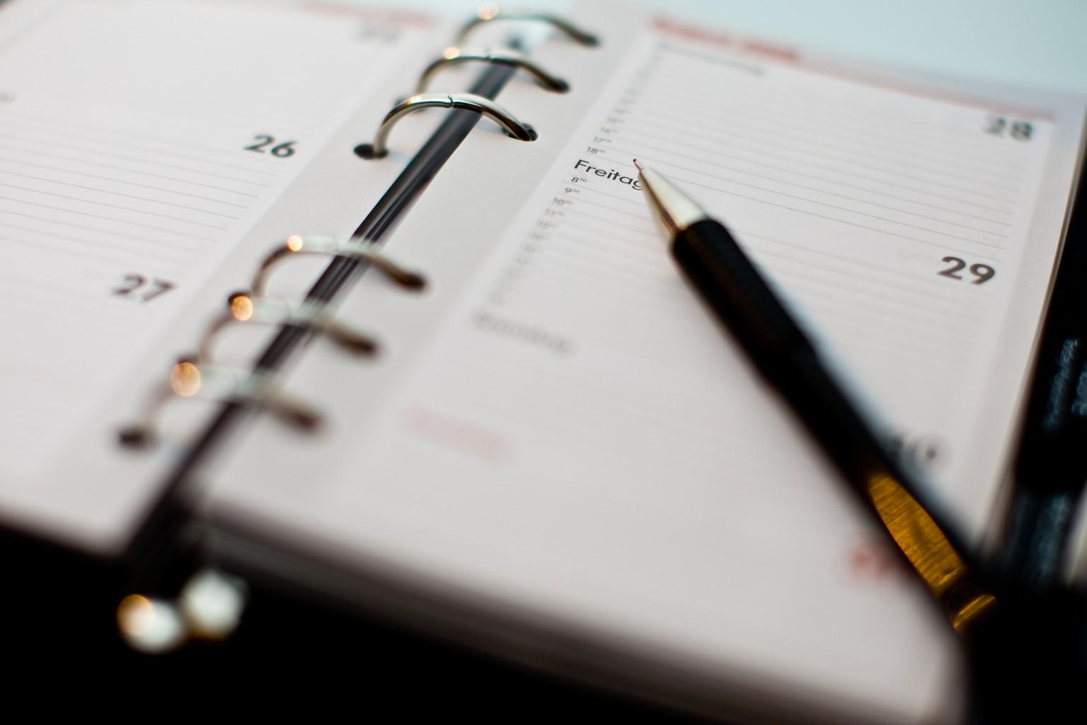 Agenda © Pixabay