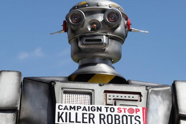 'De tijd is rijp voor een internationaal verbod op killer robots' © Amnesty Internationaal
