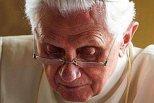 De emeritus paus Benedictus XVI © Domradio