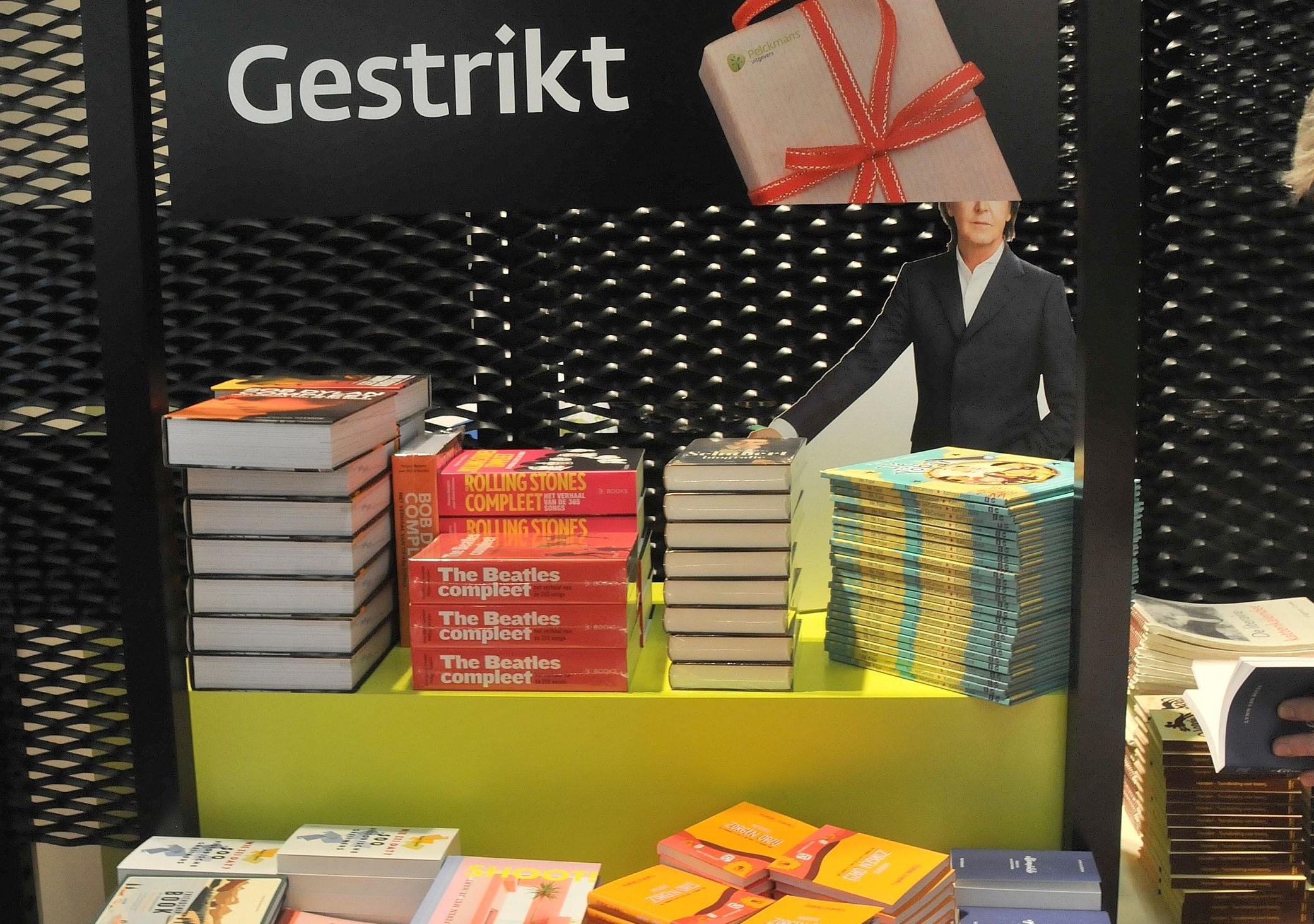 De Boekenbeurs in Antwerpen © Philippe Keulemans