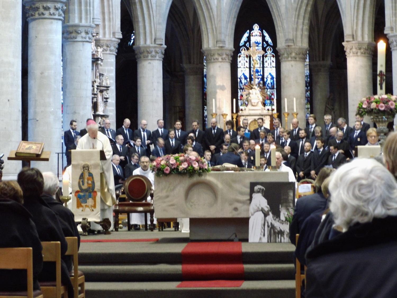Jubileumviering van Cantate Domino in de Sint-Martinuskerk op zondag 27 januari 2019