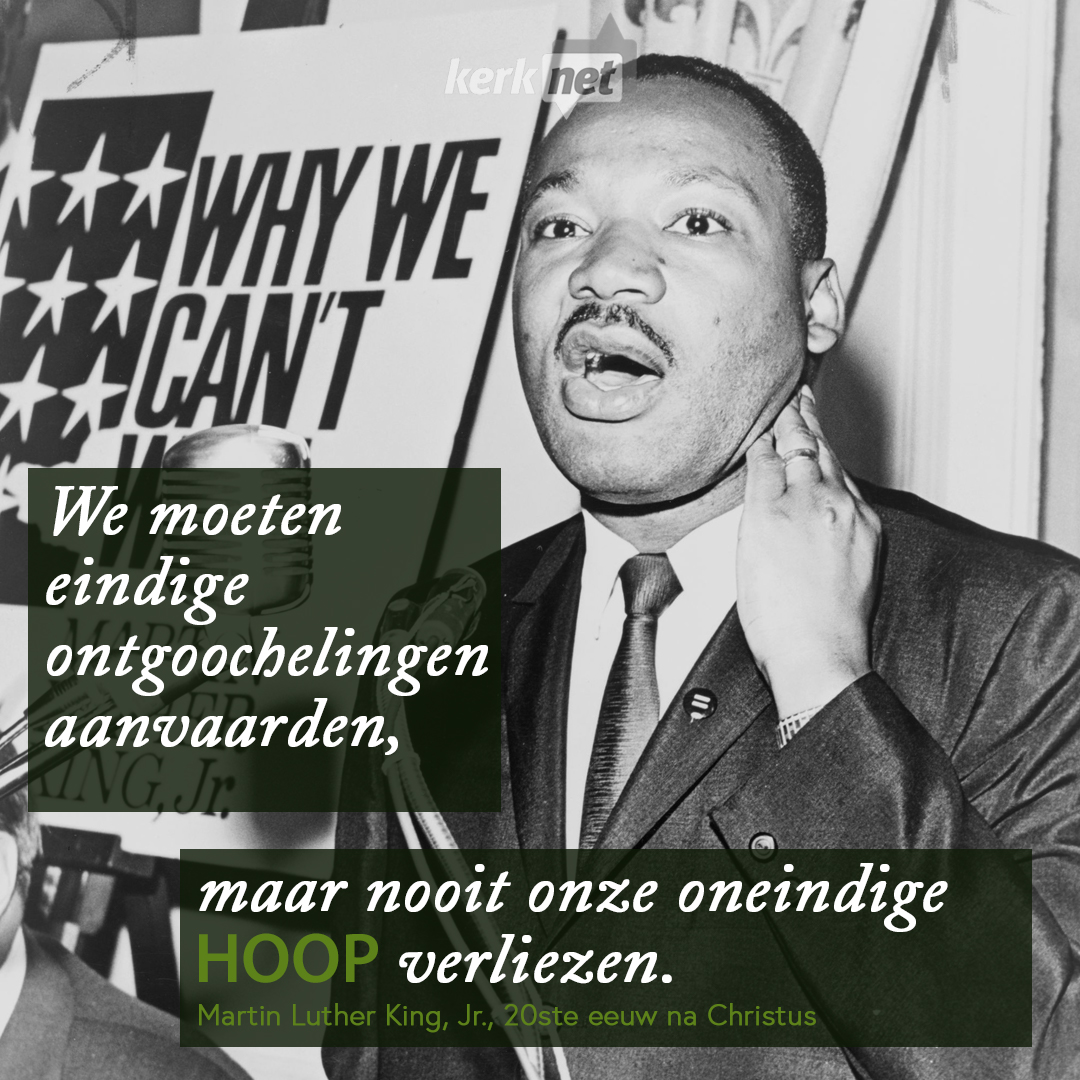Martin Luther King Jr. © Foto Walter Albertin, 1964, Kerknet